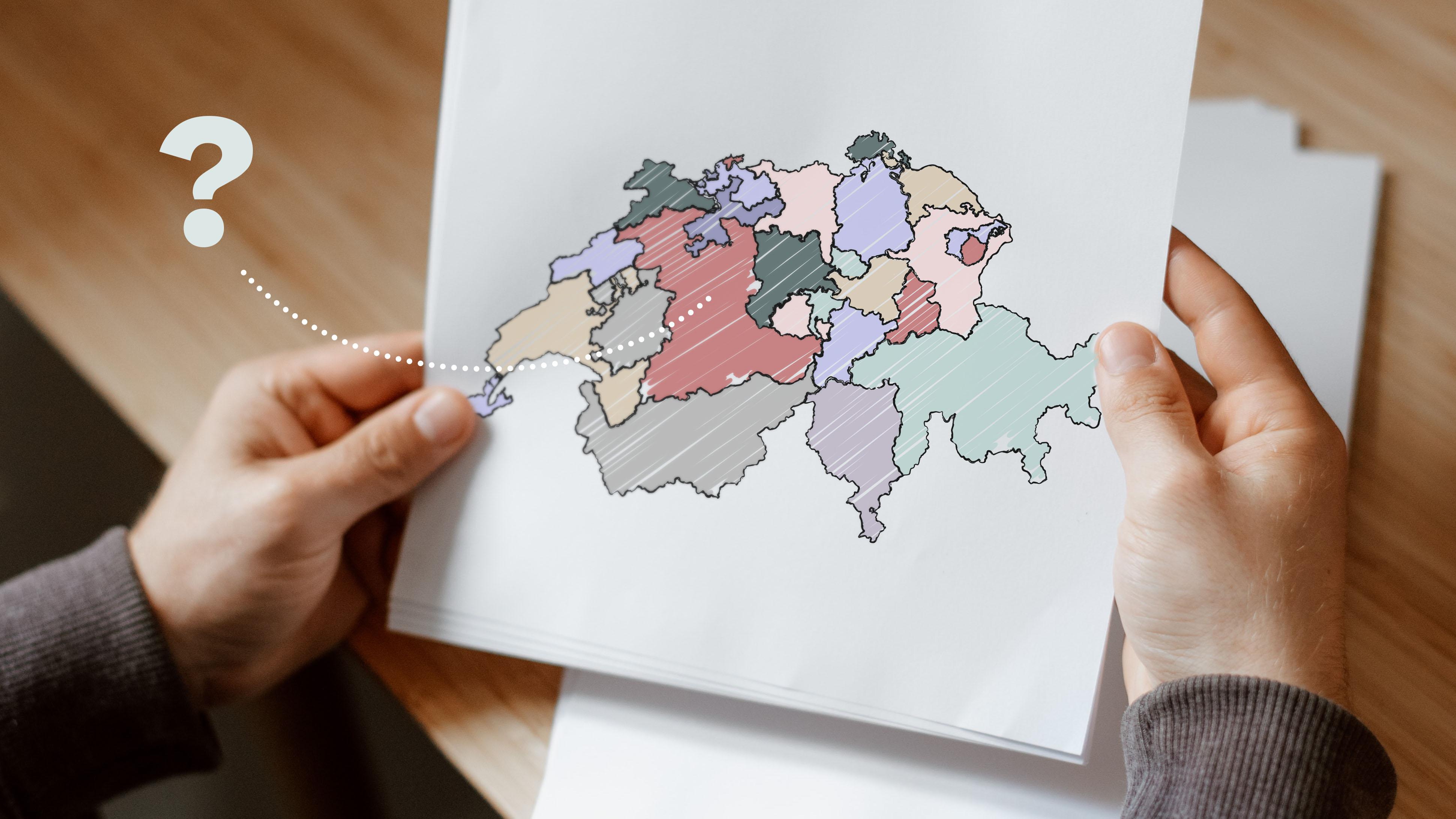 Symbolbild: 26 Kantone, 26 Schulsysteme