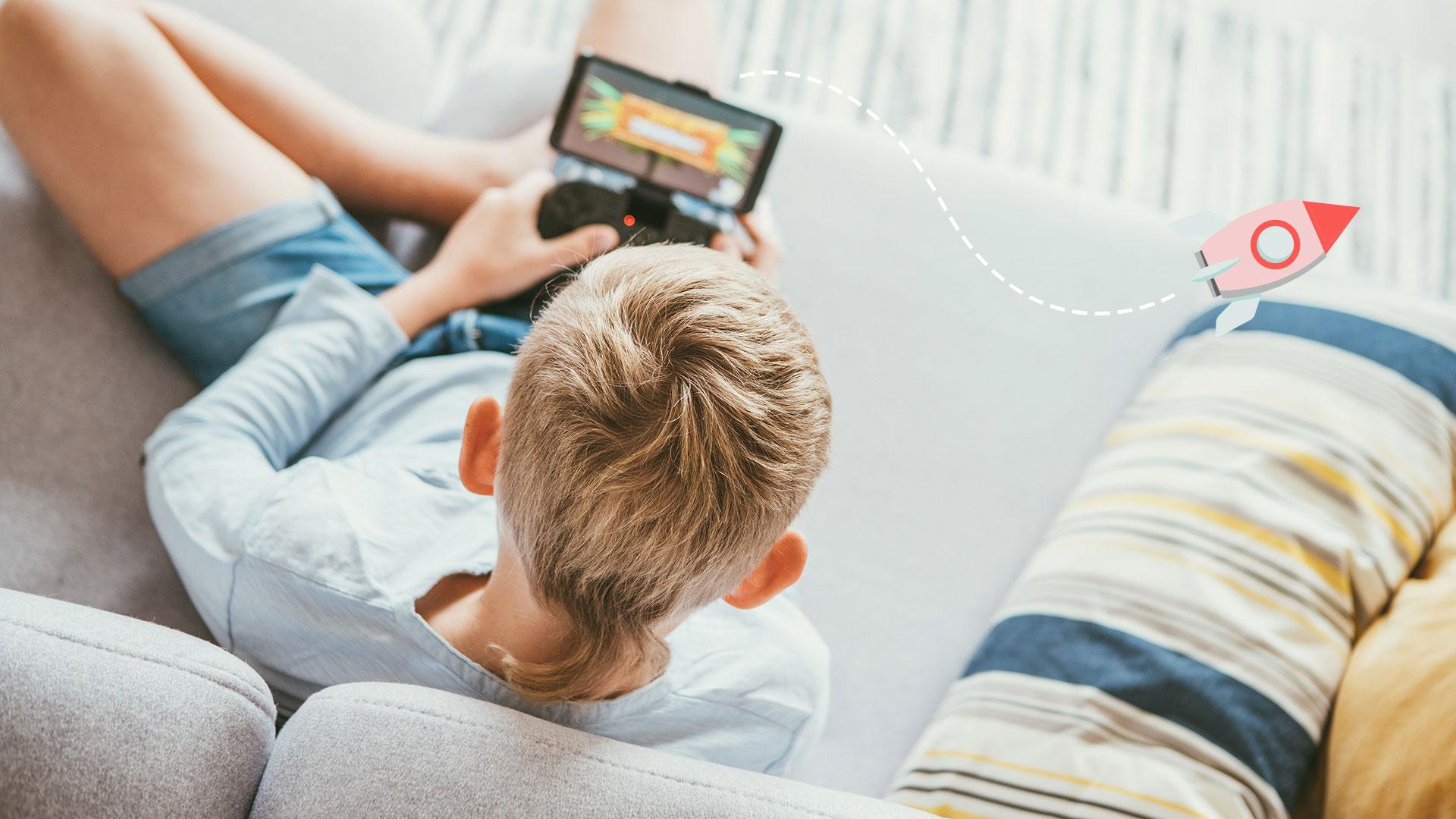 Symbolbild: Gamen und Lernen / Gamen im Schulalltag