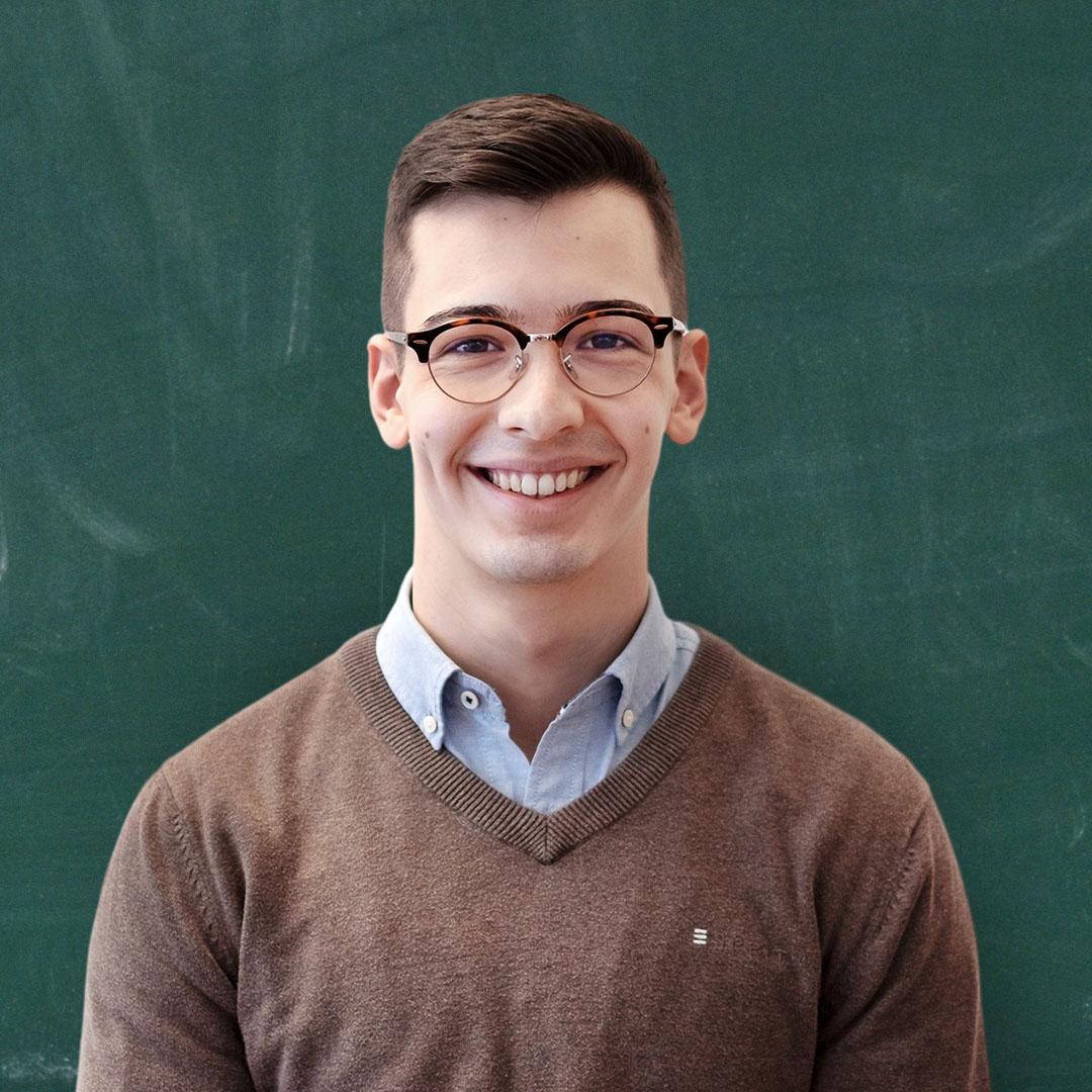 Schlaufux Lehrperson Dominic